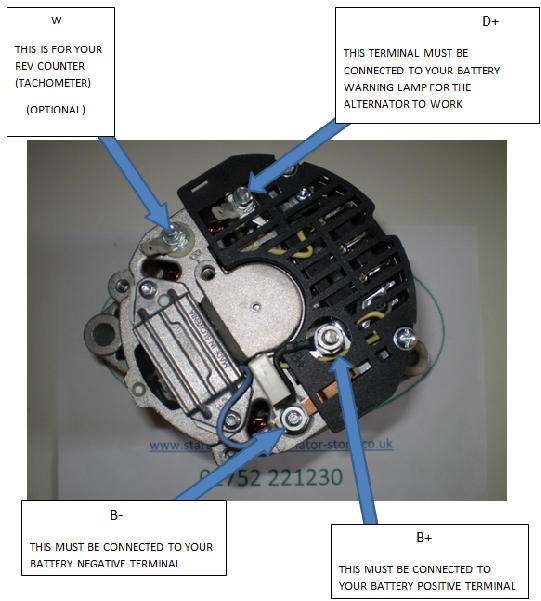 volvo penta alternator wiring diagram volvo penta alternator wiring volvo penta | 55amp marine alternator | various ... #3